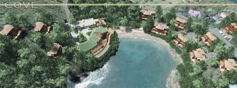 A sketch of the proposed tourism project.