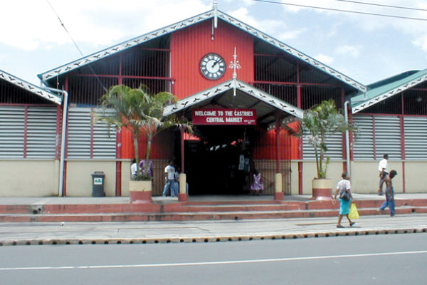 Image of The Castries Market