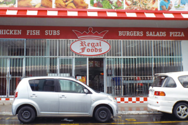 Image of Regal Foods in Bridge Street, Castries.