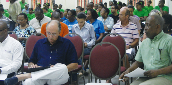 Some of the participants at the AGM.