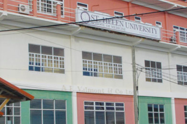 Image of The St. Helen University at Vieux Fort.