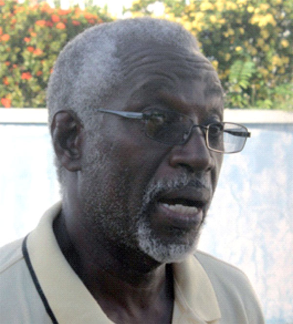 Photo of Castries Central Constituency Branch chairman, Mark Louis. [Photo: Stan Bishop]