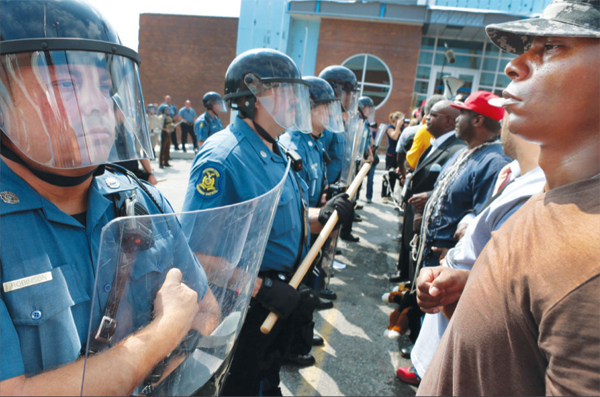 Face off in Ferguson