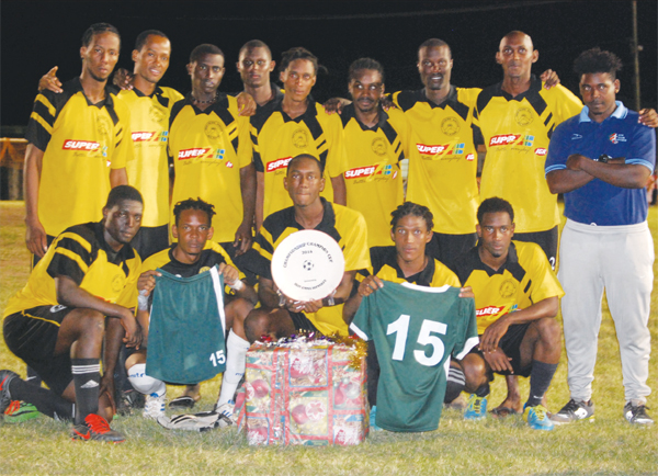 Super J Northern United Knock Out Champions. (PHOTO: Anthony De Beauville)