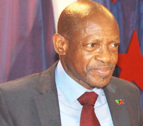 Saint Kitts and Nevis' Prime Minister Dr. Denzel Douglas
