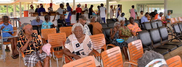 Some of the Senior citizens who attended
