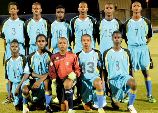 St. Lucia Under 17 football team qualify for the finals in Honduras (Photo Anthony De Beauville)