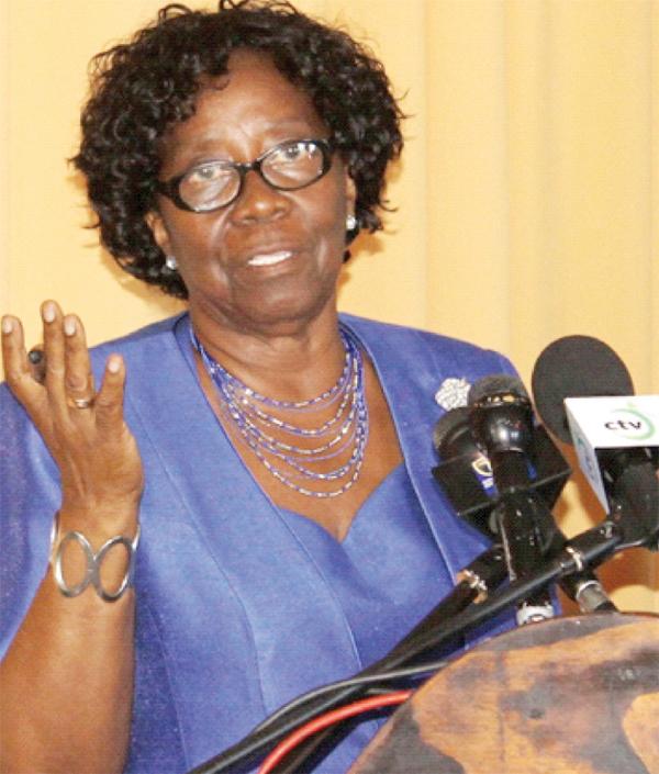 GOVERNOR-General and Chairman of the Nobel Laureate Week Committee, Dame PearletteLouisy