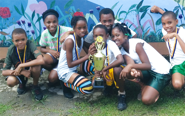 Saltibus Combined District 7 Road Relay Champions.