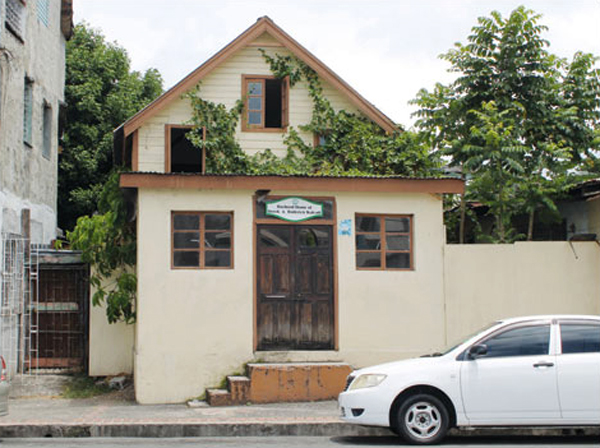 The old Walcott home on Chaussee Road