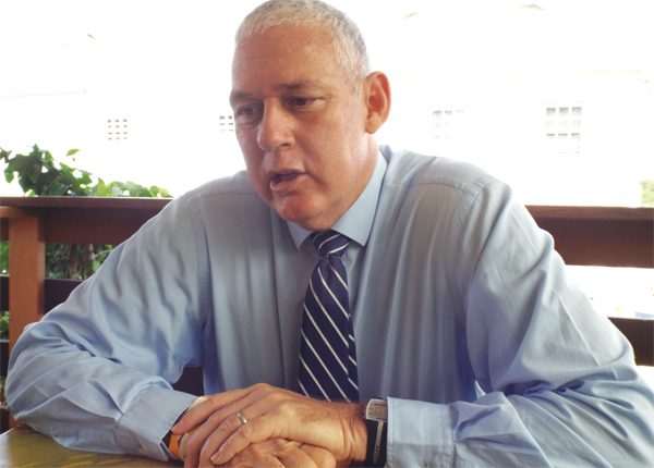 PM. Allen Chastanet