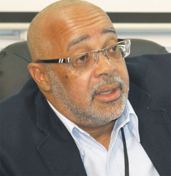 Image of OECS Director-General Dr.Didacus Jules