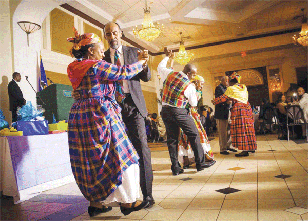 Quadrille dancing.