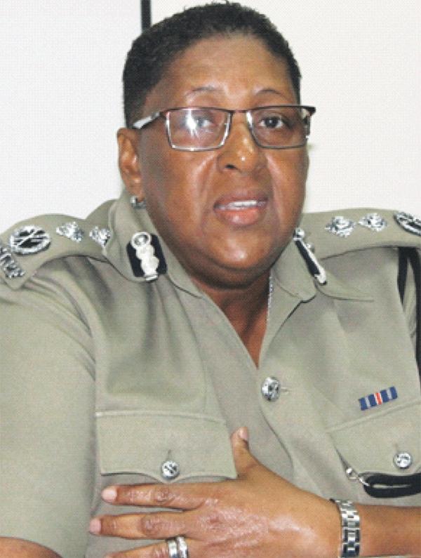 Deputy Commissioner of Police Frances Henry