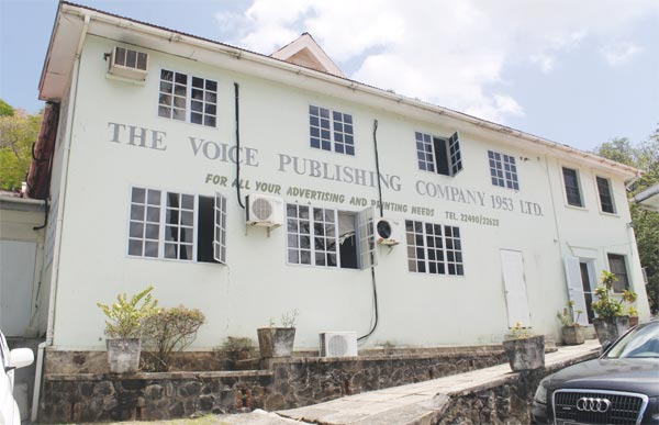 The Voice Publishing Company at Darling Road.
