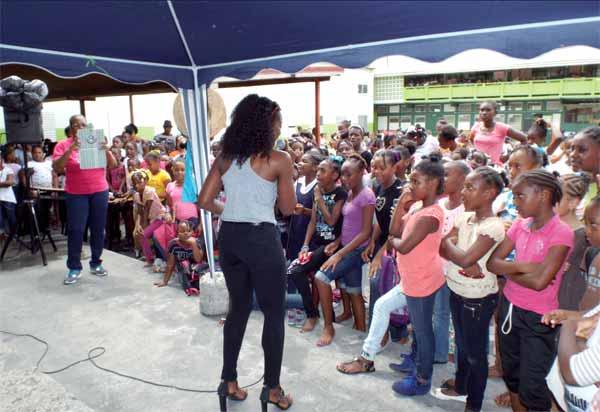 Ave Maria School children being entertainment