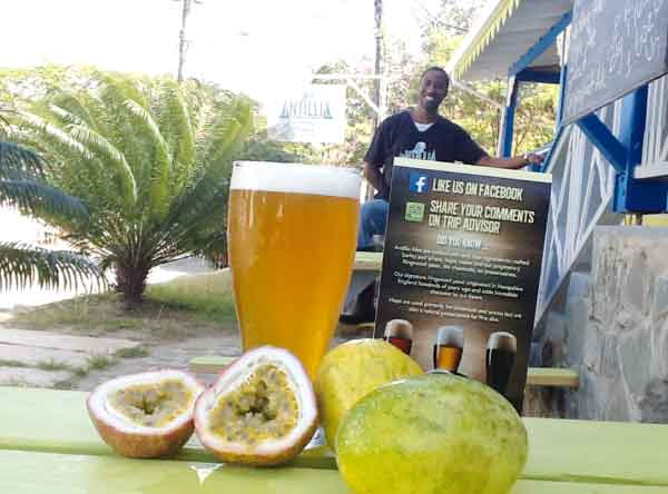 Passion Fruit Beer