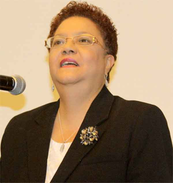 CCJ's Madame Justice Maureen Rajnauth-Lee. [Photo: Stan Bishop]