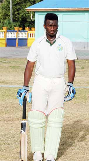 Denzil James played well for 75 (Photo: Anthony De Beauville)