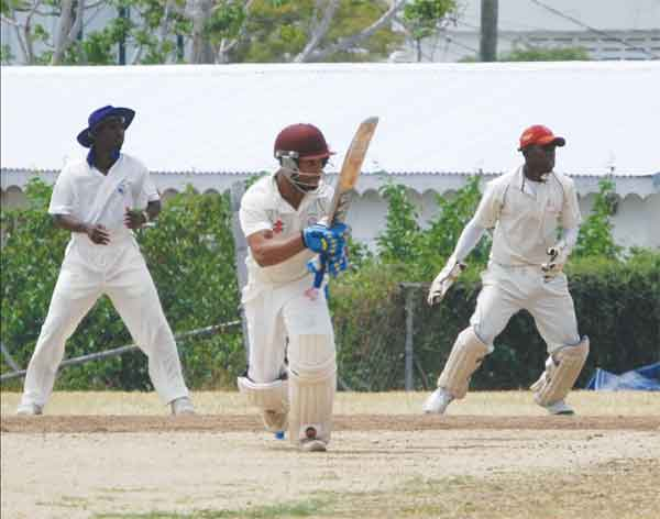 The inform Dwight Thomas will be in the thick of things for Gros Islet against Laborie. (Photo: Anthony de Beauville)