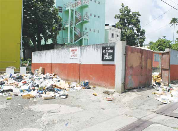 A typical Castries scene. Photo: Stan Bishop