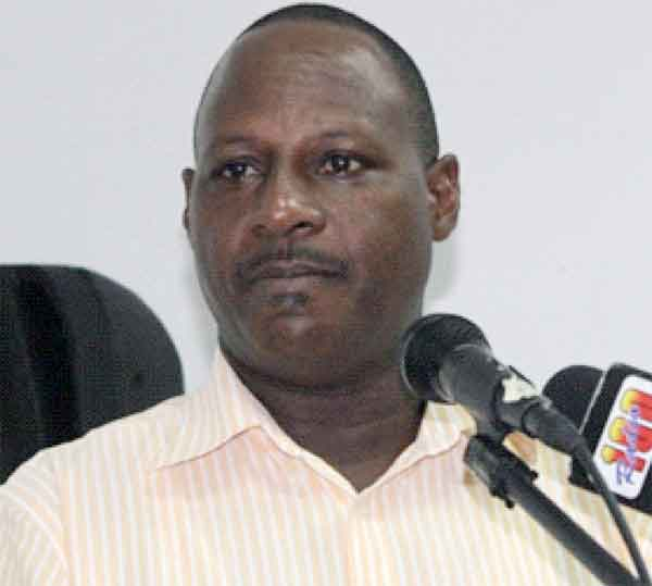 Executive Director of the St. Lucia Chamber of Commerce, Industry & Agriculture, Brian Louisy. [Photo by Stan Bishop]