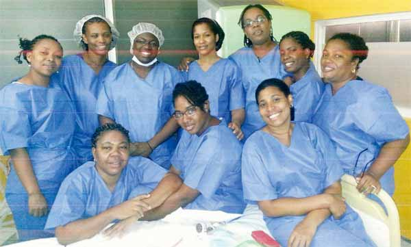 Participants who took part in the training.
