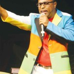 Image: Reigning Calypso Monarch, Walleigh, seems confident in a two-peat