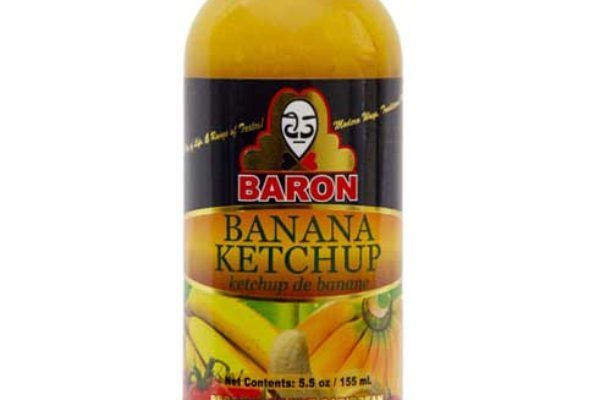 Image of a bottle of Banana ketchup