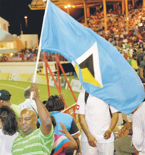 St. Lucia Zouks all the way on Friday night
