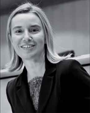 Image of EU High Representative for Foreign Affairs and Security Policy Federica Mogherini