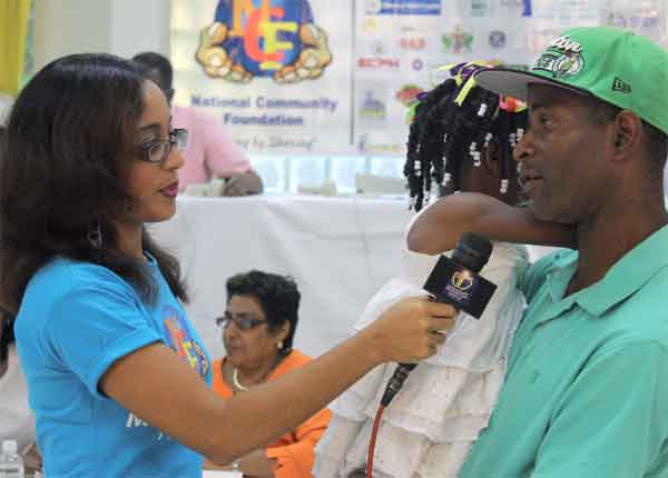 A grateful father thanks NCF for its assistance to his daughter
