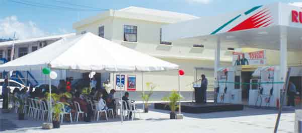 The new Rubis gas station owned by the Jn Marie family.
