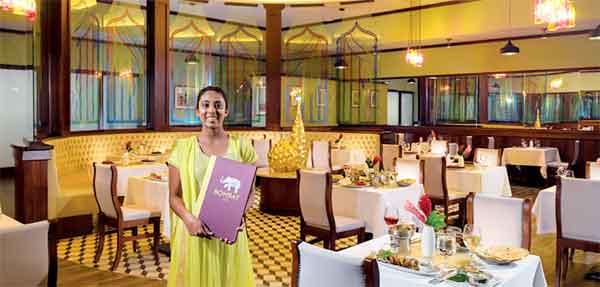 Sandals Bombay Club Restaurant