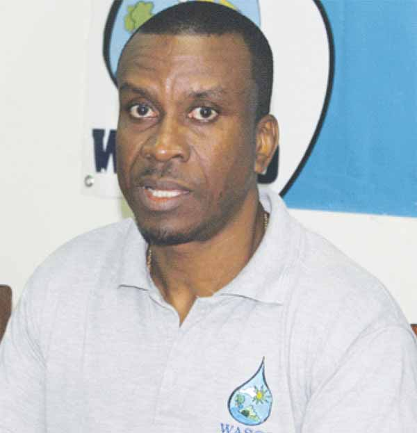 Image: WASCO's Managing Director, Vincent Hippolyte. [Photo: Stan Bishop]