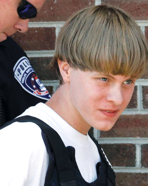 Image of Dylann Roof