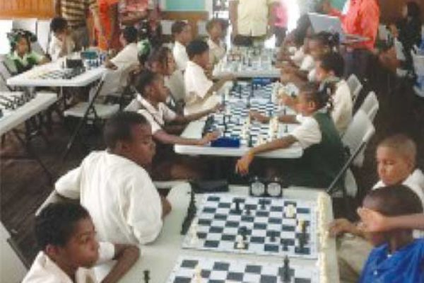 Primary School chess champions