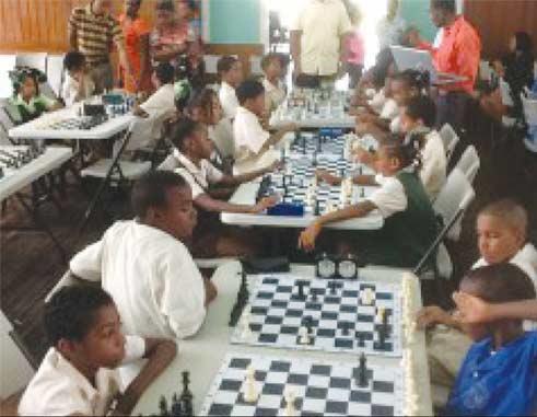 Primary School chess champions