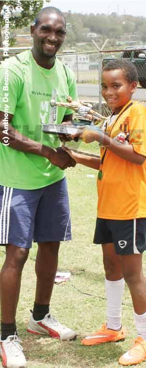 LIME – Trevor Daniel Mini Football Tournament