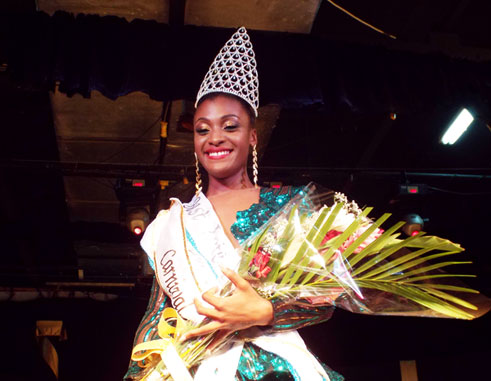 Image of 2015 Carnival Queen Yvana David