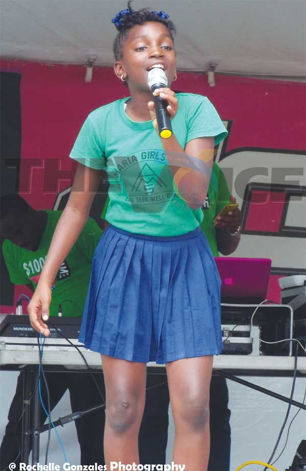 Image: Junior Calypso Monarch takes stage.