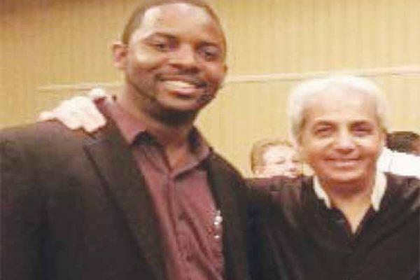 Prophet Browne with Benny Hinn