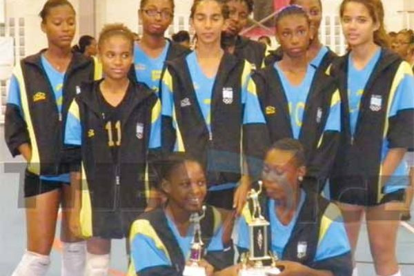 Junior ladies out to defend title in Dutch St. Martin. (Photo: Anthony De Beauville)
