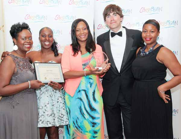 Image of SLTB's Director of Marketing for the UK and Europe Atlyn Forde with other SLTB team members.