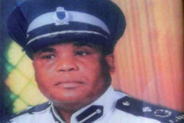 Former Commissioner of Police, Brian Bernard