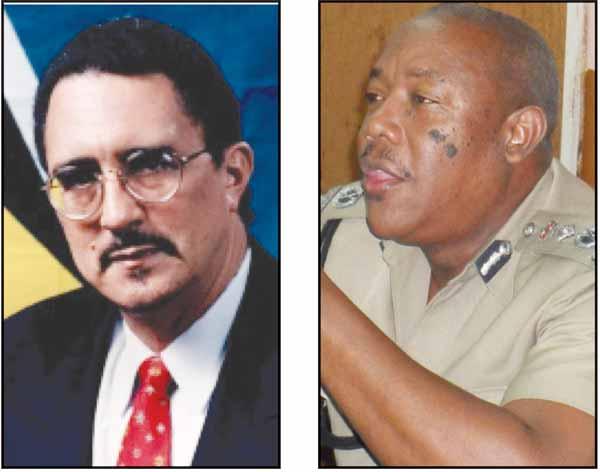 Prime Minister Anthony [Left] Alexander [Right}