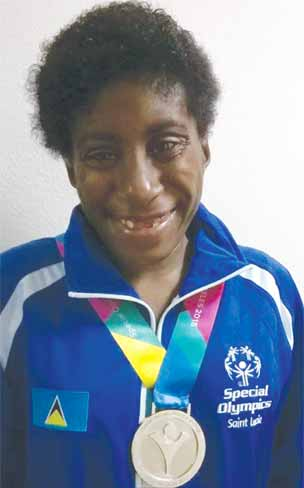 Cheryl Louisy (Photo: St. Lucia Special Olympics)