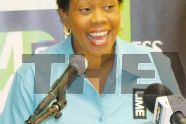 LIME St. Lucia Commercial Manager Cheryl Francis. (Photo: Anthony De Beauville)