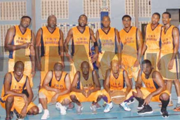 Inland Revenue Department had a hard fought game against Digicel winning 76-66 (Photo: Anthony De Beauville)