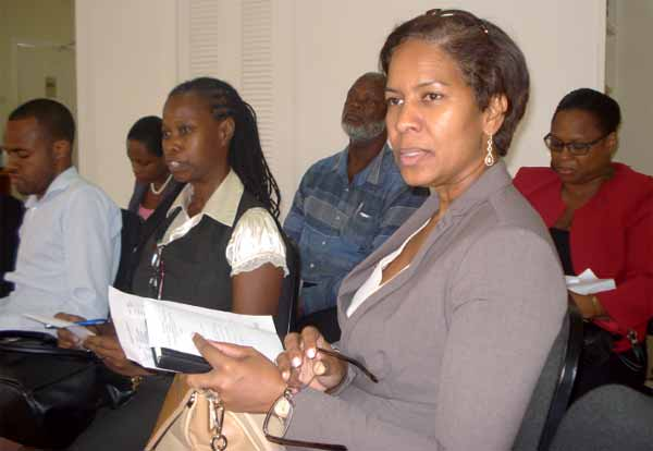 Senator Debra Tobiere was among business leaders attending